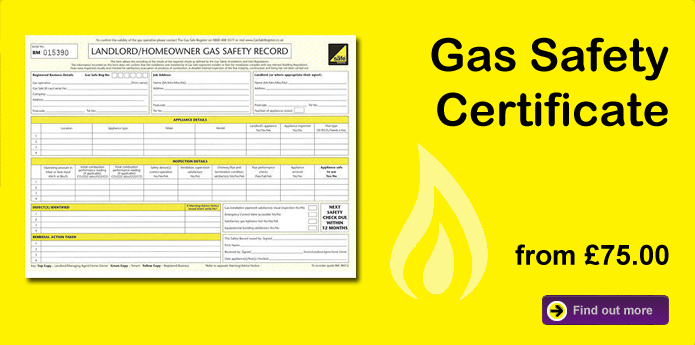 Gas Safety Certificate Epc Pat Testing Fixed Wire Test